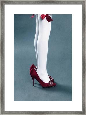 Too Big Shoes Framed Print by Joana Kruse