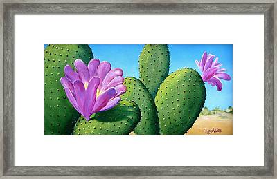 Too Close For Comfort Framed Print by Tanja Ware