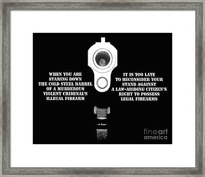 Too Late Framed Print by Al Powell Photography USA
