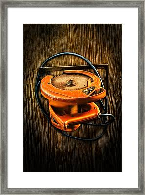 Tools On Wood 32 Framed Print by YoPedro