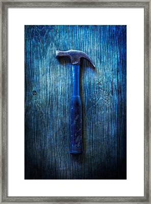 Tools On Wood 36 Framed Print by YoPedro