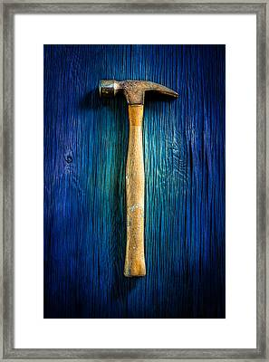 Tools On Wood 49 Framed Print by YoPedro