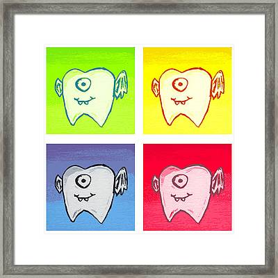 Tooth Fairies Framed Print by Jera Sky