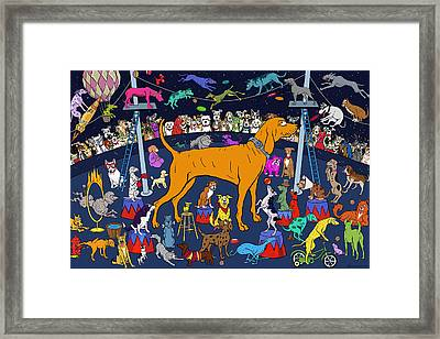 Top Dog Framed Print by Frank Harris