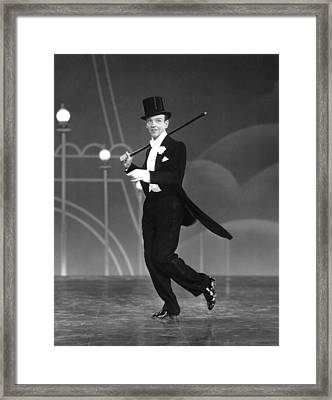 Top Hat, Fred Astaire, 1935 Framed Print by Everett