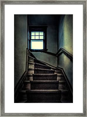 Top Of The Stairs Framed Print by Scott Norris