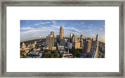 Top Of The World Framed Print by Chris Austin