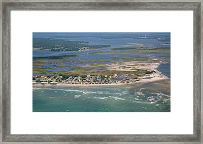 Topsail Island Migratory Model Framed Print by Betsy C Knapp