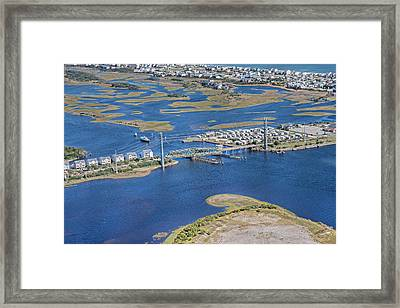 Topsail Island The Iron Lady Framed Print by Betsy Knapp