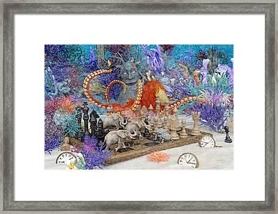 Topsail Island Under The Sea Framed Print by Betsy Knapp