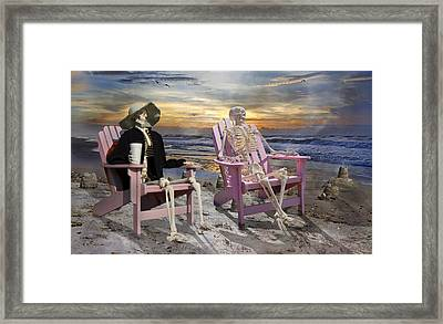 Topsail Tales Framed Print by Betsy C Knapp