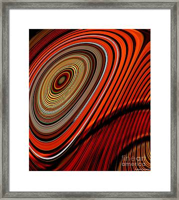 Tormented Eye Framed Print by Thibault Toussaint