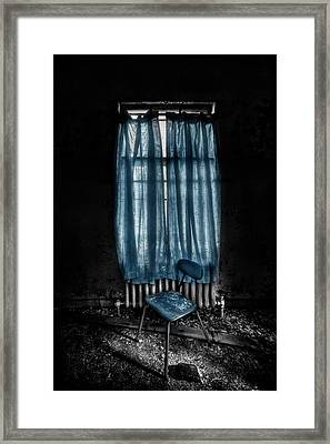 Tormented In Grace Framed Print by Evelina Kremsdorf