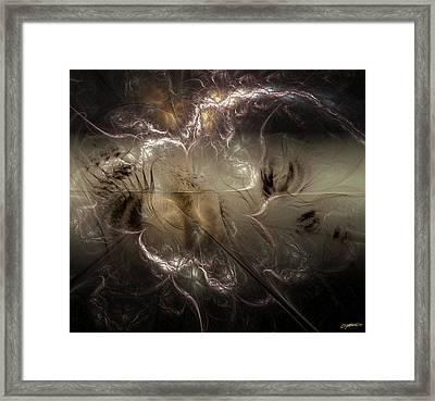 Torn Asunder Framed Print by Casey Kotas
