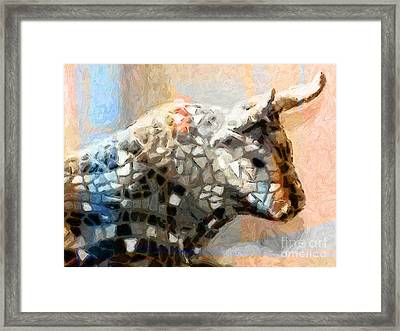Toro Taurus Bull Framed Print by Lutz Baar