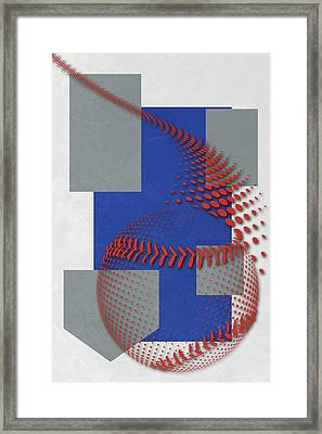 Toronto Blue Jays Art Framed Print by Joe Hamilton