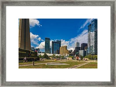 Toronto Cn Tower 2 Framed Print by Steve Harrington
