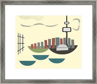 Toronto Framed Print by Finlay McNevin