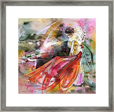 Toroscape 45 Framed Print by Miki De Goodaboom