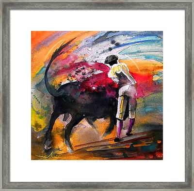 Toroscape 53 Framed Print by Miki De Goodaboom