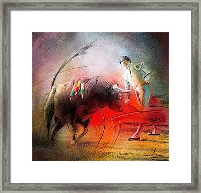 Toroscape 59 Framed Print by Miki De Goodaboom