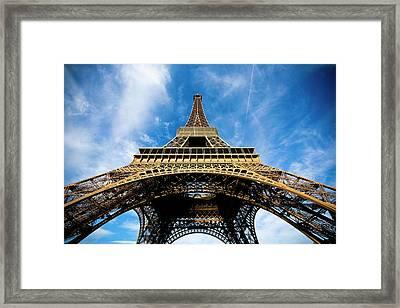 Torre Eiffel - Tour Eiffel - Eiffel Tower Framed Print by Ruy Barbosa Pinto