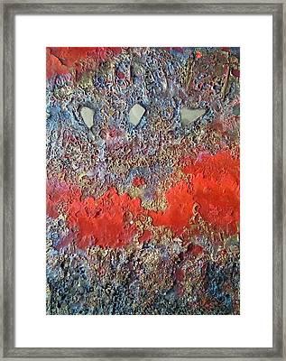 Torrent Framed Print by Lynda Stevens