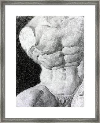 Torso 1a Framed Print by Valeriy Mavlo