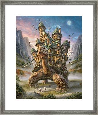 Tortoise House Framed Print by Phil Jaeger