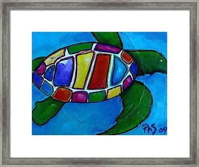 Tortuga Framed Print by Patti Schermerhorn