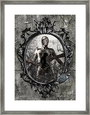 Tortured Soul Framed Print by Betta Artusi