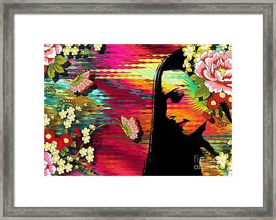 Totality Framed Print by Ramneek Narang