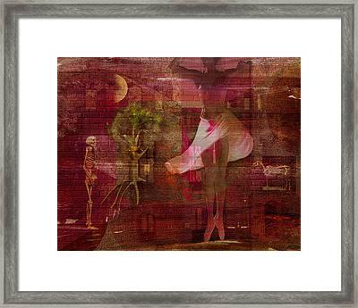 Totentanz I Framed Print by Mimulux patricia no