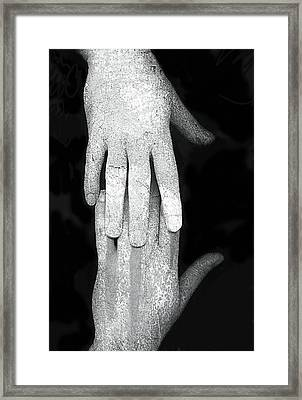 Touch Framed Print by Johan Lilja