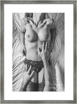 Touch Me Framed Print by Jt PhotoDesign