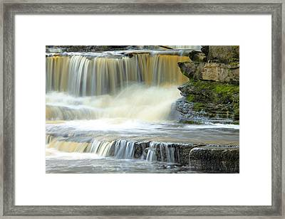 Touch Of Water Framed Print by Martina Fagan