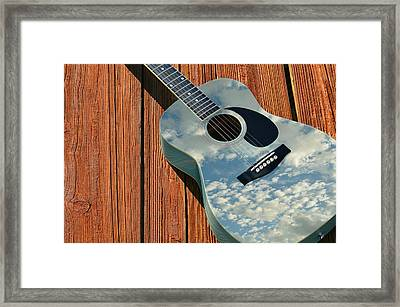Touch The Sky Framed Print by Laura Fasulo