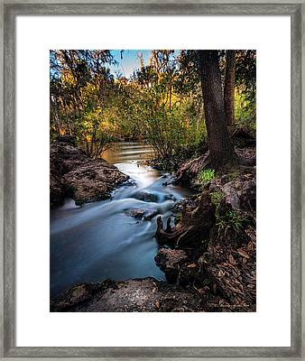 Touchable Soft Framed Print by Marvin Spates