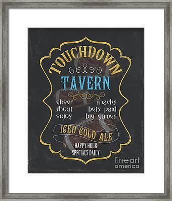 Touchdown Tavern Framed Print by Debbie DeWitt