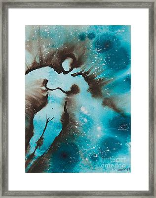 Touching The Universe I Framed Print by Ilisa  Millermoon