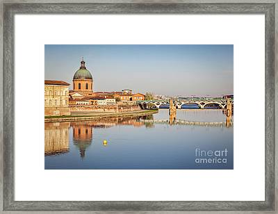 Toulouse Reflection Framed Print by Colin and Linda McKie
