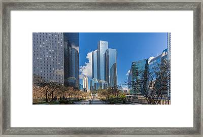 Tour Coupole Framed Print by Mike Franks