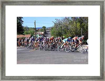 Tour Of The Gila 1 Framed Print by Natalie Ortiz
