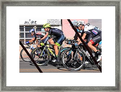 Tour Of The Gila 2 Framed Print by Natalie Ortiz