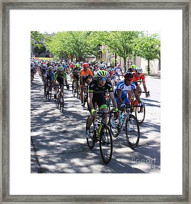 Tour Of The Gila 3 Framed Print by Natalie Ortiz
