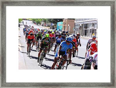 Tour Of The Gila 4 Framed Print by Natalie Ortiz