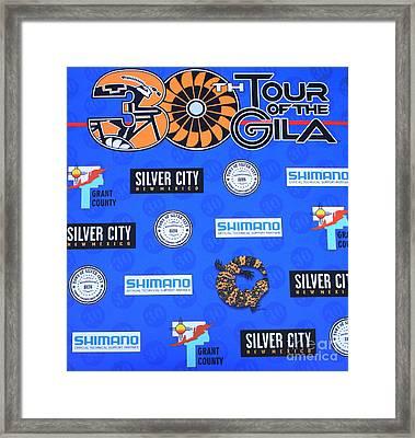 Tour Of The Gila Monster Framed Print by Natalie Ortiz