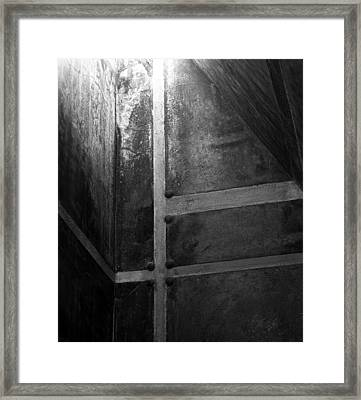 Towards The Light Framed Print by Alan Todd