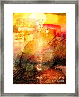 Towards The Light Framed Print by Lutz Baar