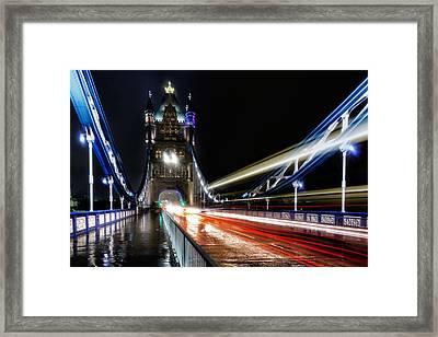 Tower Bridge London Framed Print by Ian Hufton